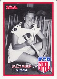 Naomi Meier All-American Girls Professional Baseball League player