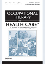 Occupational Therapy in Health Care