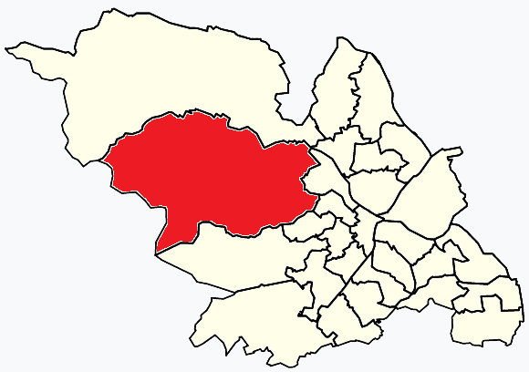 Stannington Sheffield, map