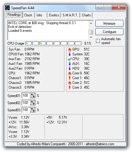speedfan 4.46 beta 2
