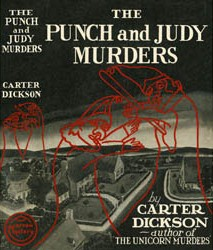 <i>The Punch and Judy Murders</i> novel by John Dickson Carr