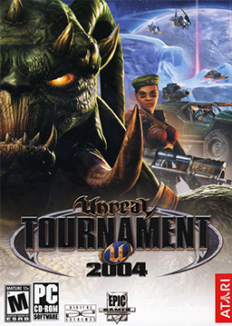 Unreal Tournament 2004 Deutsche  Texte, Untertitel, Menüs, Videos, Stimmen / Sprachausgabe Cover