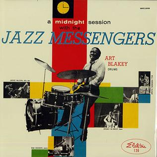 <i>A Midnight Session with the Jazz Messengers</i> 1957 live album by Art Blakey and the Jazz Messengers