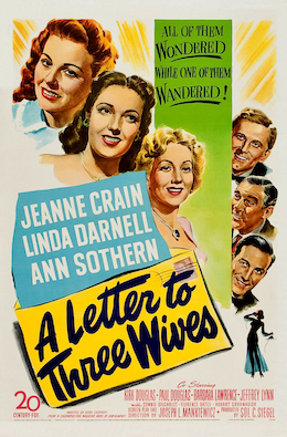 a letter to three wives a letter to three 12482