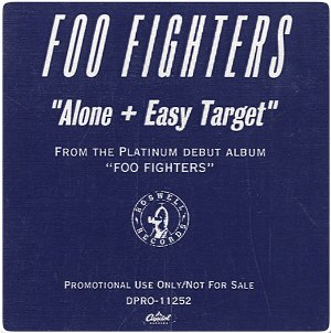 Alone + Easy Target 1996 single by Foo Fighters