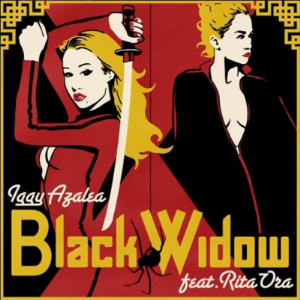 Iggy Azalea featuring Rita Ora - Black Widow (studio acapella)