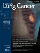 <i>Clinical Lung Cancer</i> peer-reviewed scientific journal