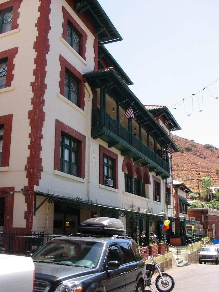 File Copper Queen Hotel Bisbee Az Jpg