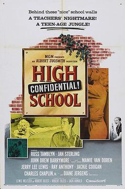 High School Confidential (1958) movie poster