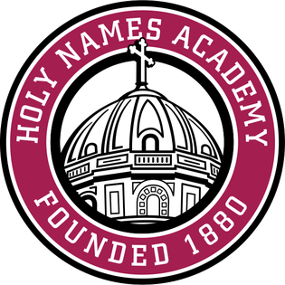 Academy of the Holy Name http://en.wikipedia.org/wiki/File:HolyNamesAcademySeal.png