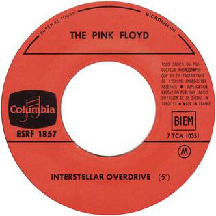 Interstellar Overdrive semi-improvised instrumental piece by Pink Floyd