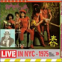 <i>Red Patent Leather</i> 1984 live album by New York Dolls