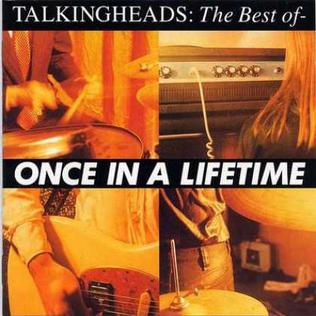Once In A Lifetime - The Best Of Talking Heads artwork