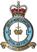 No. 12 Group RAF military unit