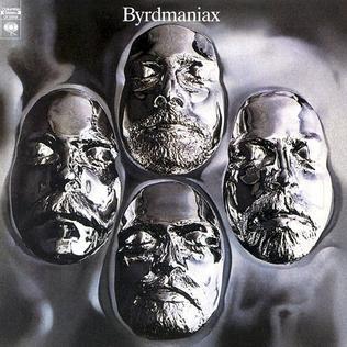 <i>Byrdmaniax</i> 1971 studio album by The Byrds
