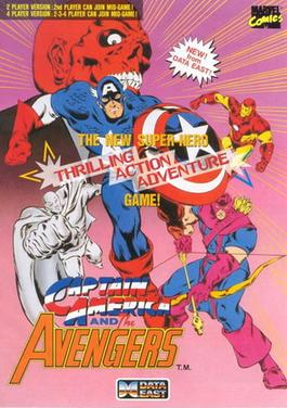 Picture of a game: Captain America And The Avengers