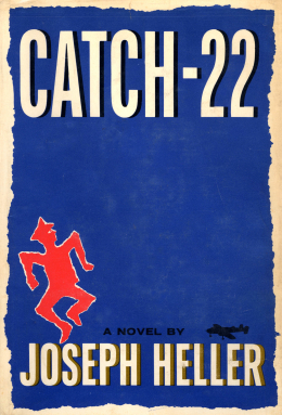 Image result for Catch 22, Joseph Heller, 1961