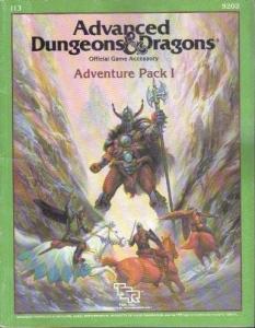 <i>Adventure Pack I</i> D&D module