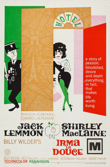 Irma la Douce Spanish movie poster