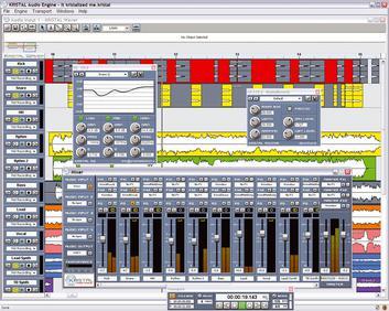 KRISTAL Audio Engine est une table de mixage pour votre ordinateur. Elle peut reconnaitre jusqu'à 16 canaux, et prend en charge les fichiers aux formats WAV, AIFF, FLAC et OGG.