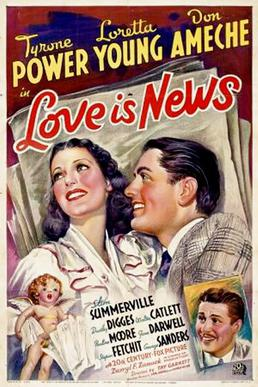Image result for love is news 1937""