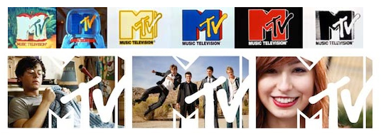 MTV's original 1981 and revised 2009 logos bot...