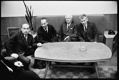 Main protagonists of Prague Spring in 1968 (L-R) Oldrich Cernik, Alexander Dubcek, Ludvik Svoboda and Josef Smrkovsky Main protagonists of Prague spring in 1968.jpg
