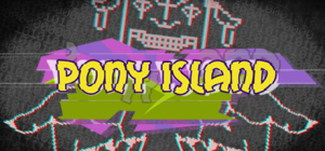 Picture of a game: Pony Island
