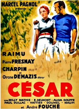 Poster for César 1936 showing Fanny and Marius .jpg