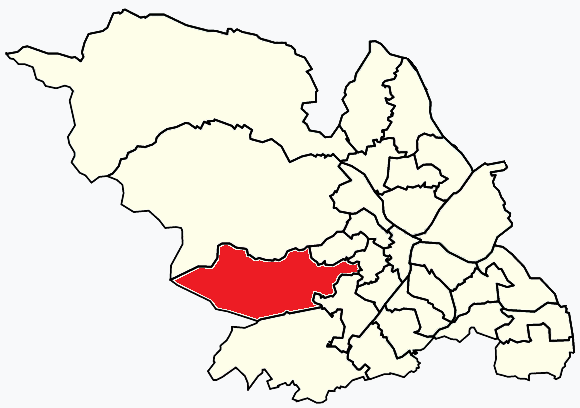 Fulwood Sheffield, map
