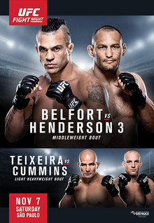 UFC Fight Night 77: Belfort vs Henderson 3