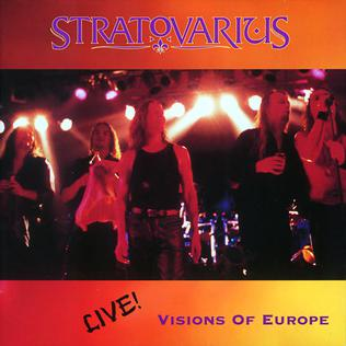 <i>Live! Visions of Europe</i> 1998 live album by Stratovarius