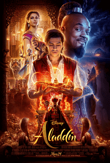 Aladdin 2019 USA Guy Ritchie Will Smith Mena Massoud Naomi Scott  Adventure, Comedy, Family