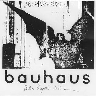 Bela Lugosis Dead single