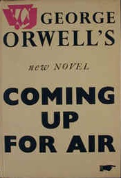 <i>Coming Up for Air</i> novel by George Orwell