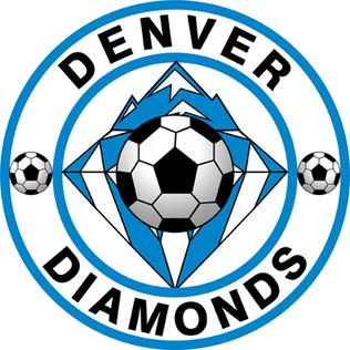 Denver Diamonds am American womens soccer team