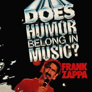 does humor belong in music album wikipedia