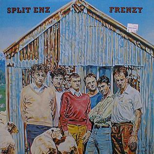 <i>Frenzy</i> (Split Enz album) 1979 studio album by Split Enz