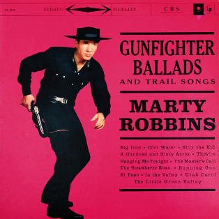 <i>Gunfighter Ballads and Trail Songs</i> 1959 studio album by Marty Robbins