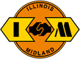 Illinois and Midland Railroad logo.png