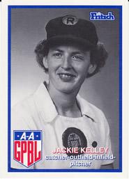 Jacquelyn Kelley All-American Girls Professional Baseball League player