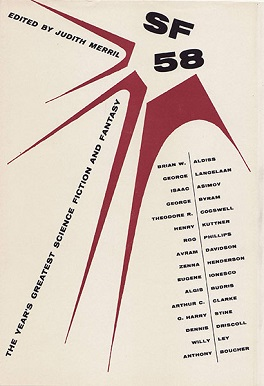 <i>SF 58: The Years Greatest Science Fiction and Fantasy</i> book by Judith Merril