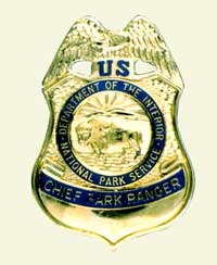 NPS Photo of Badge worn by Chief Park Rangers US Chief Park Ranger Badge.jpg