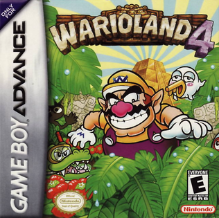 Picture of a game: Wario Land 4