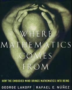 """[Première de couverture de """"Where Mathematics Comes From""""]"""