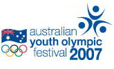 2007 Australian Youth Olympic Festival logo.png