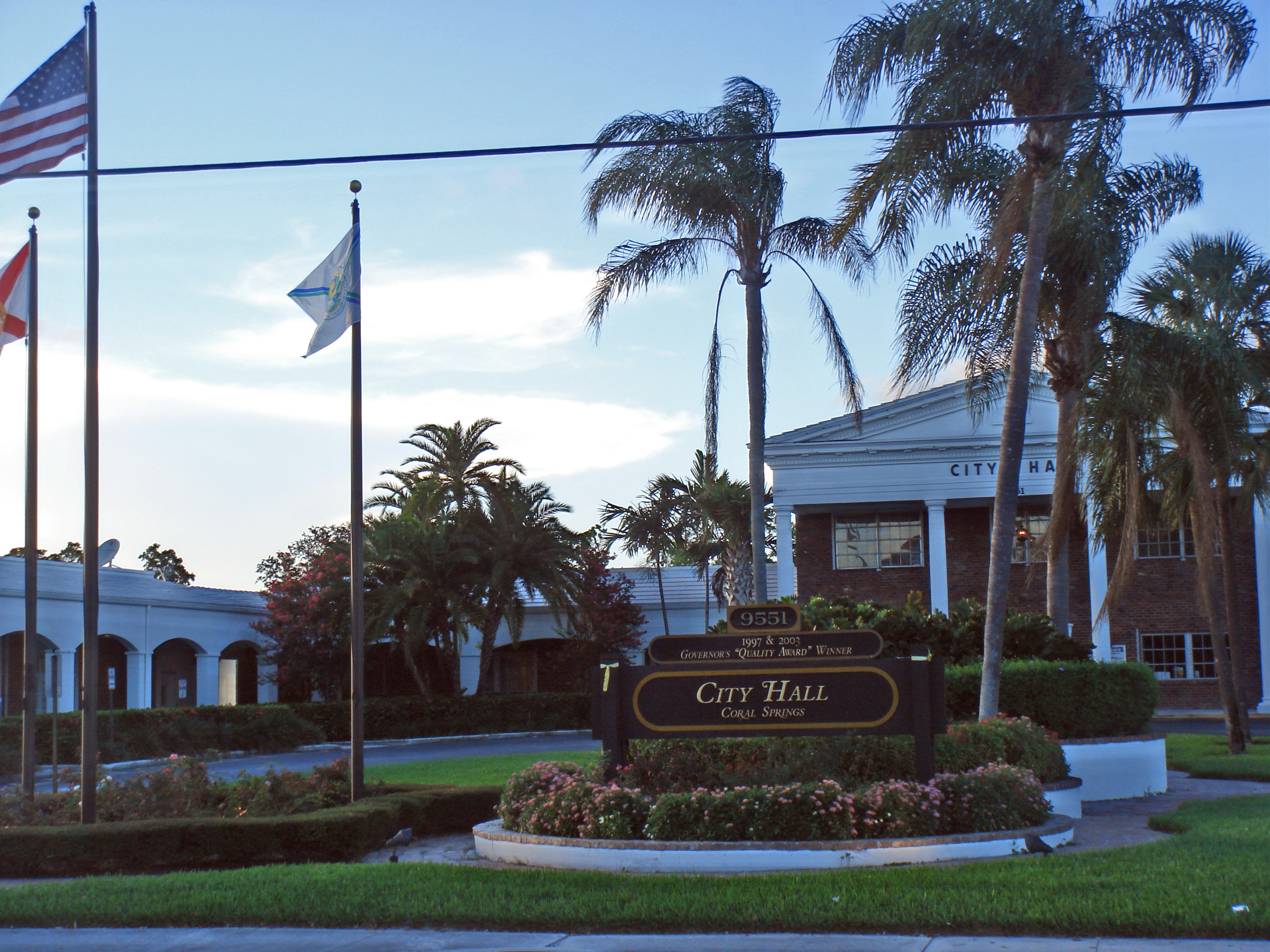 File Coral Springs City Hall Jpg Wikipedia
