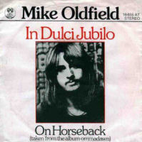 In Dulci Jubilo / On Horseback 1975 single by Mike Oldfield