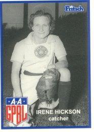 Irene Hickson American baseball player