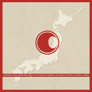 <i>Live Phish Japan Relief</i> album